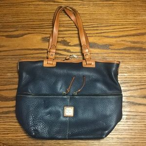 Dooney & Bourke Navy Leather Purse